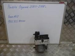 Блок abs. Porsche Cayenne, 9PA, 955 Двигатели: M, 48, 00, M02, 2Y, 50