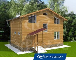 M-fresh Mexico. 100-200 кв. м., 2 этажа, 7 комнат, бетон