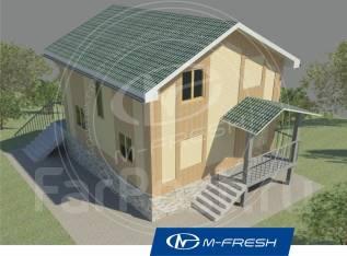 M-fresh Happy weekend. 100-200 кв. м., 2 этажа, 5 комнат, каркас