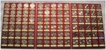 Набор монет биметалла 10 руб. 2000-2016 = 88 шт. копии ЧЯП в альбоме. Под заказ