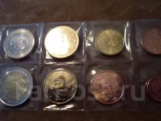 Набор евро Испания 2016г-8 монет