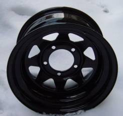 "Steel Wheels. 8.0x15"", 5x139.70, ET-40, ЦО 108,7 мм."
