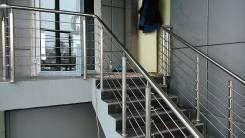 Ограждения лестниц, изделия из нержавеющей стали. Сварка Аргоном