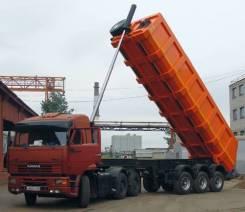 Texoms. Самосвал 30 тонн задняя выгрузка 3 оси новый, 30 000кг.