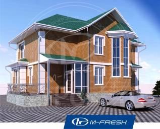 M-fresh Comfort (Проект дома для жизни в своём Родовом Поместье! ). 200-300 кв. м., 2 этажа, 5 комнат, кирпич