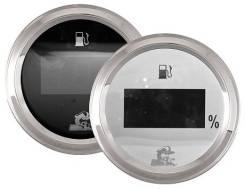Указатель уровня топлива цифровой, 0-190 Ом, белый циферблат
