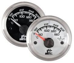 Указатель температуры масла 50-150 градусов, белый циферблат