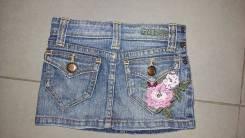 Юбки джинсовые. Рост: 86-98, 98-104 см