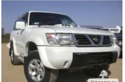 Зеркало заднего вида боковое. Nissan Safari, WYY61, WTY61, WRGY61, WGY61 Двигатели: TB45E, TD42T, ZD30DDTI, RD28ETI, RD28TI, ZD30DDTIS, SP