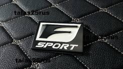Эмблема Lexus F-Sport, на крыло ( Черная )