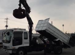 Isuzu Forward. Грейфер, 8 220 куб. см., 3 000 кг. Под заказ