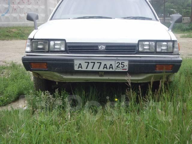 Планка под фары. Subaru Leone
