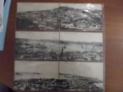 Владивосток панорама 6 штук царская Россия 19 век. Оригинал