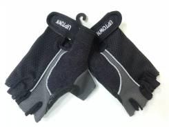 Перчатки водительские (черные с серой отделкой) арт ZX6