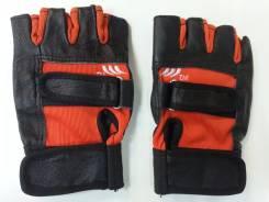 Перчатки водительские (красные с черной отделкой) арт ZX5