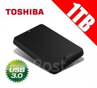 Внешние жесткие диски. 1 000 Гб, интерфейс USB 3.0
