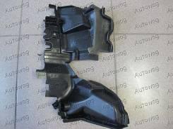 Дефлектор радиатора. Toyota Land Cruiser Prado, TRJ150, GRJ151, GRJ150 Двигатели: 1GRFE, 2TRFE