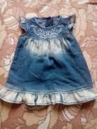 Платья джинсовые. Рост: 68-74 см