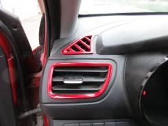Решетка вентиляционная. Kia Rio, UB Двигатели: G4FA, G4FC