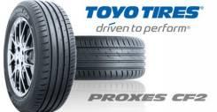Toyo Proxes CF2. Летние, 2016 год, без износа, 2 шт