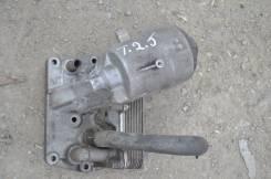 Корпус масляного фильтра. Volkswagen Touareg, 7LA,, 7L6,, 7L7, 7LA, 7L6 Двигатели: BAC BPE, BAC