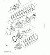 Синхронизатор кпп. Suzuki Every, DA52V, DA52T, DA52W, DA32W, DA62V, DA62W, DB52T, DA62T, DB52V Suzuki Jimny, JB43W, JB23W Suzuki Carry Truck, DA52T, D...