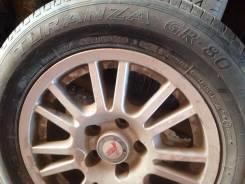 Bridgestone Turanza GR80. Летние, 2008 год, износ: 40%, 4 шт