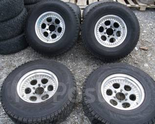 Шины Bridgestone 285/75R16 LT на ковке Safari, Land Cruiser80 и т. д. 8.0x16 6x139.70 ET-6