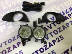 Фара противотуманная. Toyota Vitz, NSP135, NSP130, KSP130, NCP131