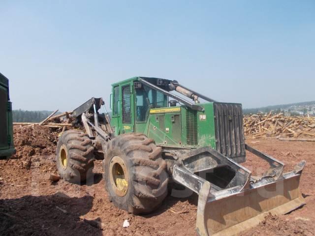 John Deere. Трактор трелевочный JOHN Deere 748H, 18 500,00кг.