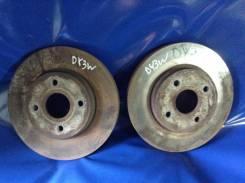 Диск тормозной. Mazda Demio, DY3R, DY5R, DY5W, DY3W Mazda Verisa, DC5R, DC5W, DY5R, DY5W, DY3W, DY3R