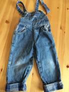 Полукомбинезоны джинсовые. Рост: 86-98, 98-104, 104-110 см