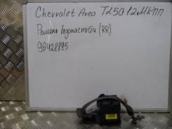 Ремень безопасности. Chevrolet Aveo, T250