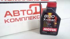 Motul 8100 X-Clean. Вязкость 5W40, синтетическое