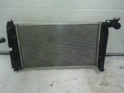 Радиатор охлаждения двигателя. Toyota Corolla, ZZE121, ZZE120 Двигатели: 3ZZFE, 4ZZFE