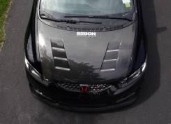 Капот. Honda Civic