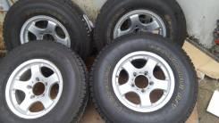 Продам колёса Jimny/ Escudo на хорошей А/Т резине. 7.0x16 5x139.70 ET5 ЦО 110,0мм.
