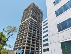 Офисы, апартаменты в новом Деловом центре города — от 758 кв. м. Улица Запорожская 77а, р-н Чуркин, 758 кв.м. Дом снаружи