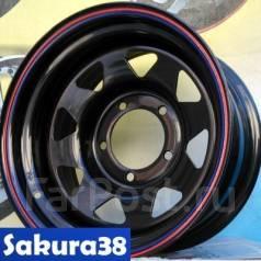 Sakura Wheels. 7.0x16, 5x139.70, ET-20, ЦО 110,5мм.