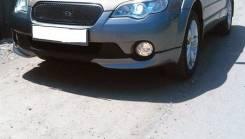 Накладки на передний бампер (клыки) Subaru Outback. Subaru Outback. Под заказ из Новосибирска