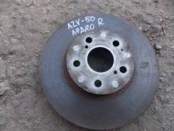 Диск тормозной. Toyota Vista Ardeo, ZZV50G, ZZV50, AZV50, AZV50G