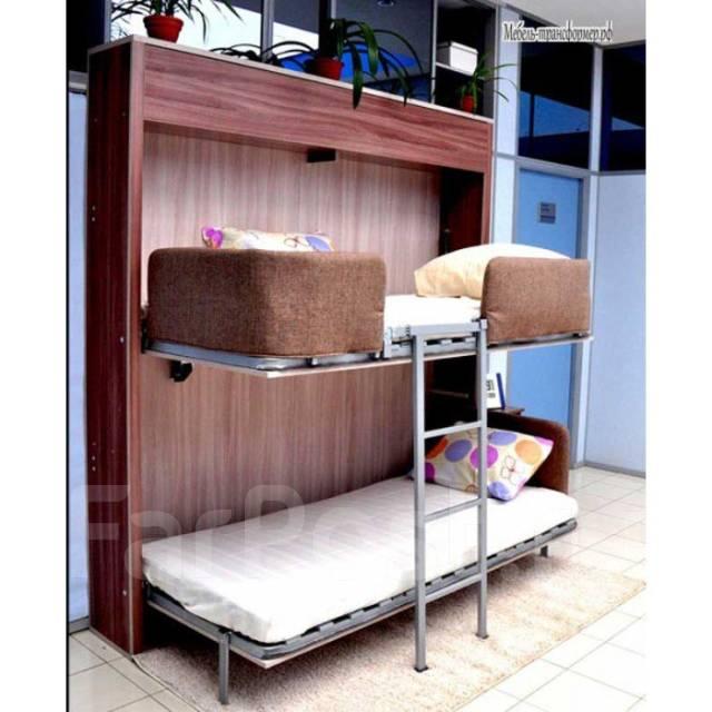 шкаф кровать трансформер двухъярусная мебель во владивостоке