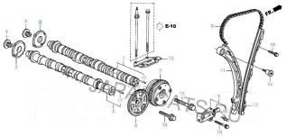 Цепь ГРМ. Honda: CR-V, Accord, Civic, Stream, Edix, Integra, FR-V, Accord Tourer, Stepwgn Двигатели: K20A7, K20A8, K20A6, K20Z2, K20Z3, K20Z4, K20A2...