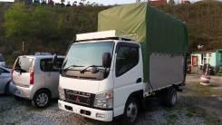 Mitsubishi Canter. MMC Canter 2008 Б/П , Таможенный ПТС, высокие борта с тентом и каркасом, 3 000 куб. см., 2 000 кг.