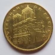 2011 г Франция. Монетовидный жетон. Париж. Notre Dame de Paris