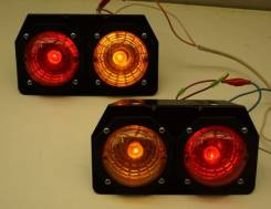 Стоп сигнал (фонарь задний) Фонари задние грузовика, прицепа