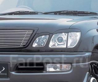Накладка на фару. Toyota Land Cruiser, UZJ100, UZJ100W Toyota Land Cruiser Cygnus, UZJ100W Lexus LX470, UZJ100 Двигатель 2UZFE. Под заказ