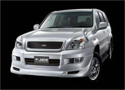 Решетка радиатора. Toyota Land Cruiser Prado, GRJ120, GRJ120W, KDJ120, KDJ120W, KZJ120, LJ120, RZJ120, RZJ120W, TRJ120, TRJ120W, VZJ120, VZJ120W Двига...