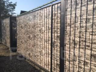 Заборы из профлиста с покрытием Экостиль, любые ограждения, ворота