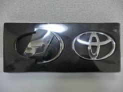 Эмблема решетки. Toyota: Alphard, Hiace, Vellfire, Regius Ace, Crown Majesta Двигатели: 2AZFXE, 2GRFE, 2AZFE, 5LE, 2TRFE, 2KDFTV, 1KDFTV, 1URFSE, 3UZF...